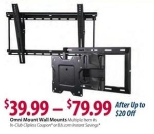 Omni Mount Wall Mounts