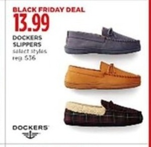 Dockers Men's Slippers
