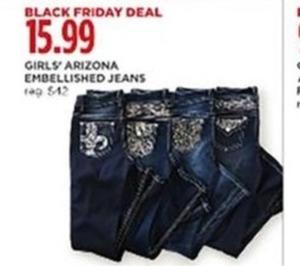 Girls' Arizona Embellished Jeans