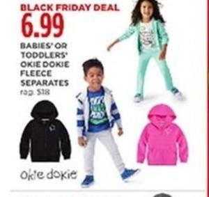 Okie Dokie Babies' or Toddlers Fleece Separates
