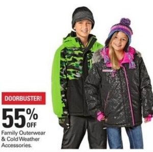 Family Outerwear and Cold Weather Accessories