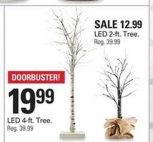 LED 4-Ft. Tree
