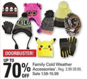 Family Cold Weather Accessories