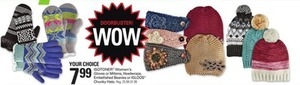 Isotoner Women's Winter Accessories and Igloos Chunky Hats