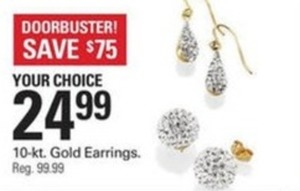 10-Kt. Gold Earrings