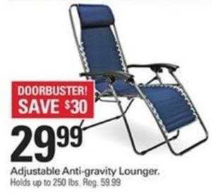 Adjustable Anti-Gravity Lounger
