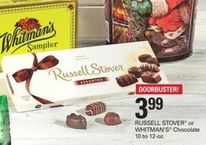 Russell Stover or Whitman's Chocolate