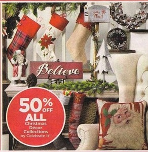 All Celebrate It Christmas Decor Collections