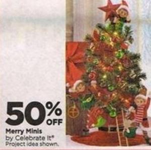 Celebrate It Merry Minis
