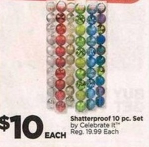 Shatterproof 10 pc. Set