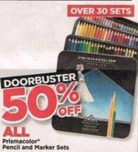 All Prismacolor Pencil & Marker Sets