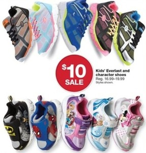 Everlast Kids' Character Shoes
