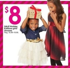 Girl's Holiday Edition Dresses