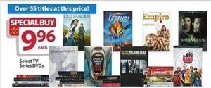 Select TV on DVD Series