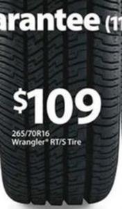 Goodyear 265/70R16 Wrangler RT/S Tire