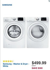 Samsung Washer & Dryer