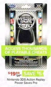 Nintendo 3DS Action Replay Power Saves Pro