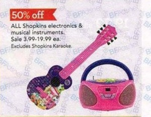All Shopkins Electronics & Musical Instruments