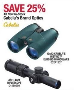 Cabela's Brand Optics