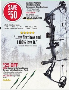 Diamond Archery Infinite Edge Pro Compound-Bow Package