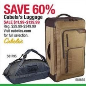 Cabela's Luggage