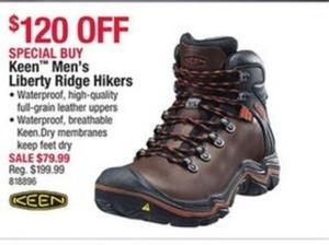 Keen Men's Liberty Ridge Hikers