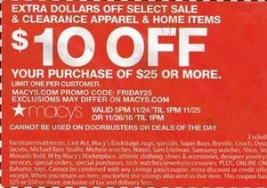 Select Sale & Clearance Apparel & Home Items Coupon