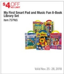 My First Smart Pad & Music Fun 8-Book Library Set