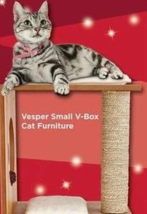 Vesper Small V-Box Cat Furniture