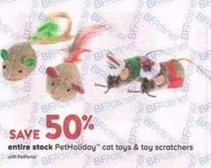 Entire Stock PetHoliday Cat Toys & Toy Scratchers