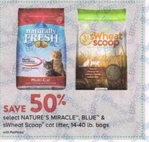 Nature's Miracle, BLUE & swear Scoop Cat Liter