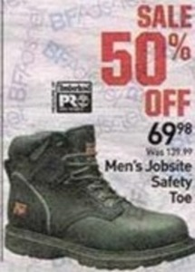 Men's Jobsite Safety Toe Boots