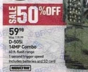 D-505i 14MP Combo Hunting Camera