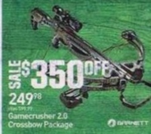 Gamecrusher 2.0 Crossbow Package