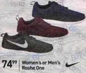 Women's or Men's Roshe One