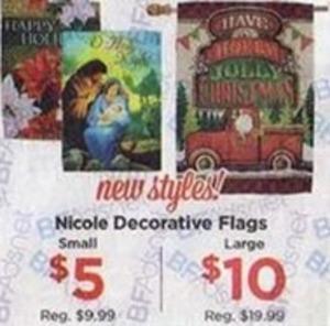 Nicole Decorative Flags