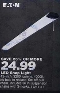 Eaton LED Shop Light