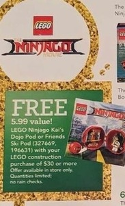 LEGO Friends Ski Pod with $30 LEGO Purchase