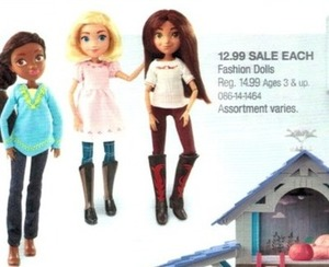 DreamWorks Spirit Fashion Dolls