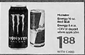 Monster / Red Bull Energy Drinks