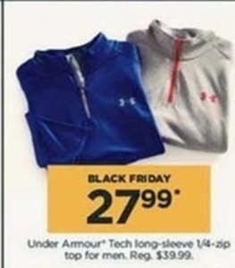 Men's Under Armour Tech Long-sleeve 1/4zip Top