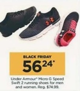 Men and Women Under Armour Micro G Speed Swift 2 running shoes