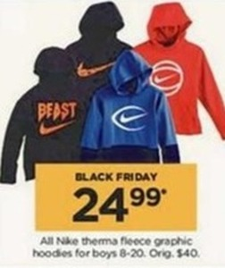 Nike Therma Fleece Graphic Boys Hoodies