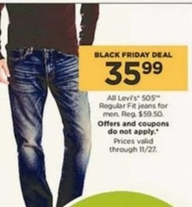 All Men's Levi 505 Regular Fit Jeans