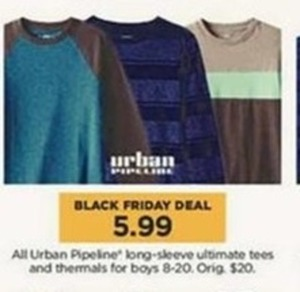 Urban Pipeline Long-Sleeve Tees & Thermals