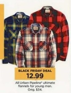 Young Men's Urban Pipeline Ultimate Flannel
