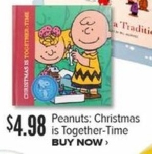 Peanuts Christmas Is Together Time