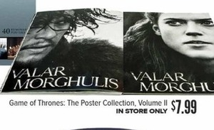 Game of Thrones: The Poster Collection, Volume II In-Store Only
