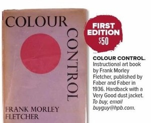Colour Control by Frank Morley Fletcher (First Edition)