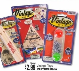 Vintage Toys (In-Store Only)
